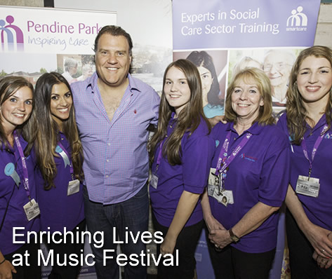 Enriching Lives at Music Festival